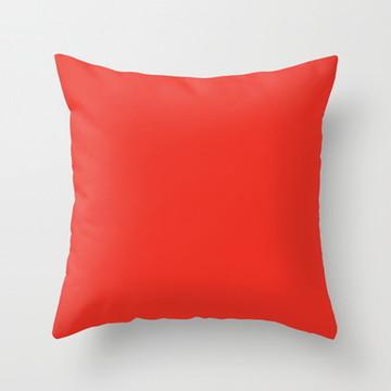 Capa de Almofada Vermelha 40x40