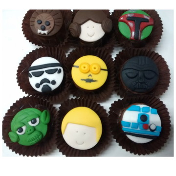 Mini pão de mel Star Wars