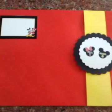Convite Aniversário - Mickey ou Minnie