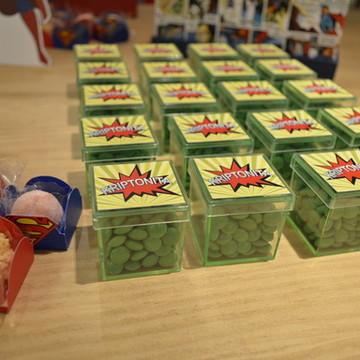 Caixinha de Acrílico Superman
