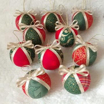 Bolas para árvore de Natal