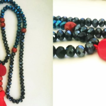Japamala Azul Marinho e Royal