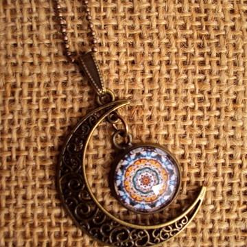 Gargantilha Cosmos Mandala