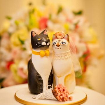 Topo de bolo gatinhos personalizados