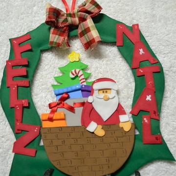 Guirlanda Natal - Papai Noel e Presentes