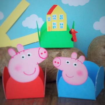 Peppa Pig - Casa da Peppa [forminha]