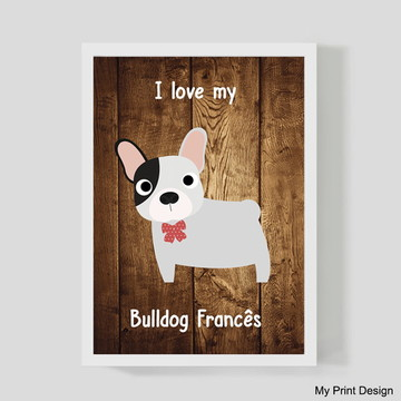 Quadro Bulldog Frances