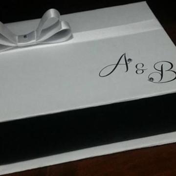caixa convite casamento aniversario