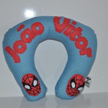 Travesseiro de pescoço homem aranha