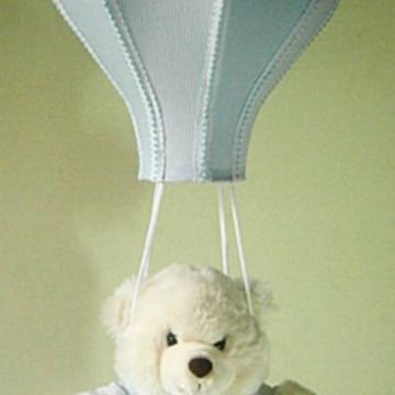LUSTRE INFANTIL BALÃO paraquedas