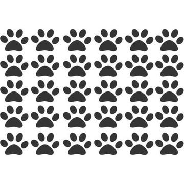 Adesivo Patas Patinha Cachorro Dog Pet