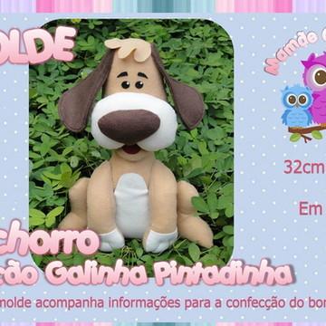 Molde Cachorro - Galinha Pintadinha