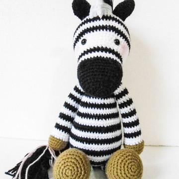 Amigurumi Zebra (Zebra Gurumi)