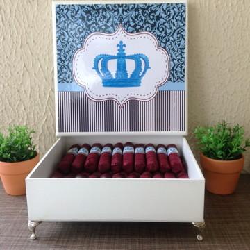 Charutos Chocolate Coroa Rosa Azul