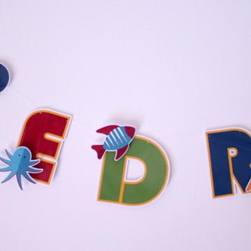 Varal de letras- Mar (R$ por letra)