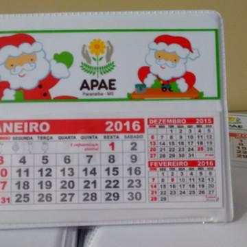 Calendario de mesa empresa natal