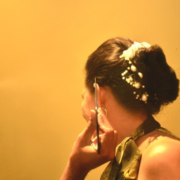 Arranjo Dice com flores Artemis