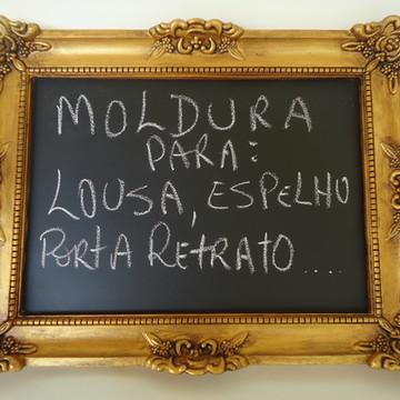 Moldura Provençal p Lousa/Espelho/Foto
