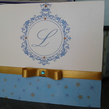Convite Infantil Príncipe