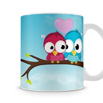 Caneca Birds In Love