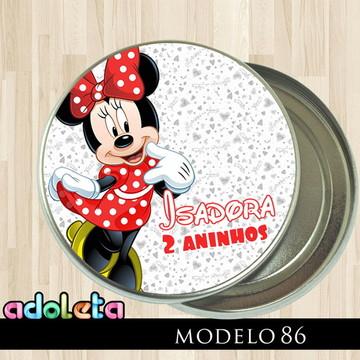 Latinhas Personalizadas Festa da Minnie