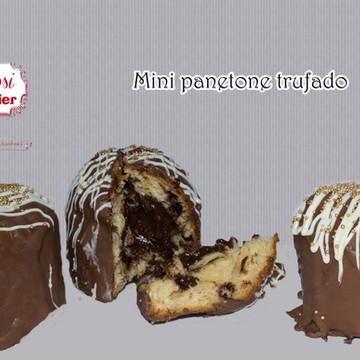 Panetone trufado (mini) sabores variados