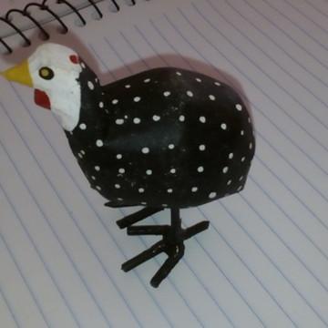 galinha d'angola pequena