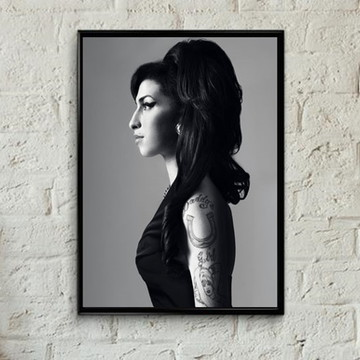 Quadro Amy Winehouse retrô
