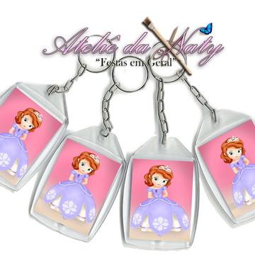 Chaveiro Personalizado - Princesa Sofia