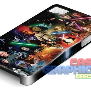 Capa Celular Star Wars Jedi Filme Solo Leia Luke Skywalker