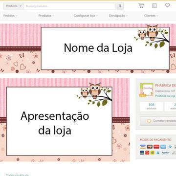 kit para loja elo7 corujinha
