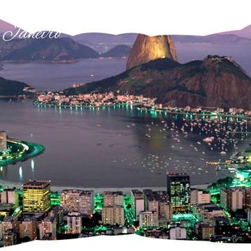 Almofada Rio de Janeiro