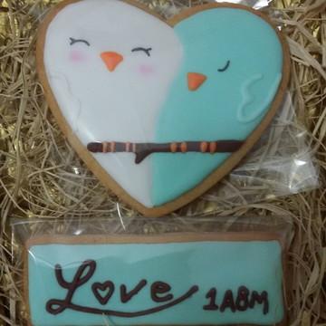 Cookies Birds in love
