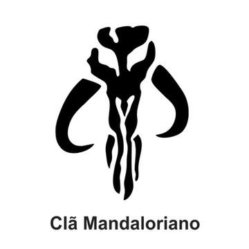 Adesivo Star Wars - Clã Mandaloriano