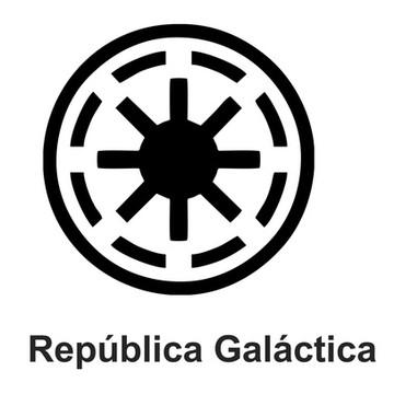 Adesivo Star Wars - República Galáctica