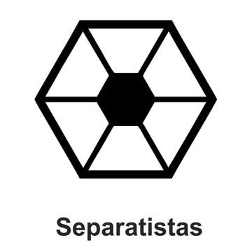 Adesivo Star Wars - Separatistas