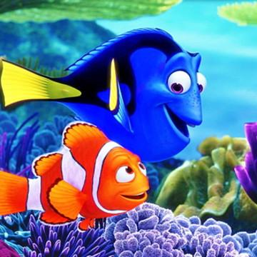 Painel Nemo - Adesivos