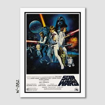 Quadro 65x45cm Darth Vader - Star Wars