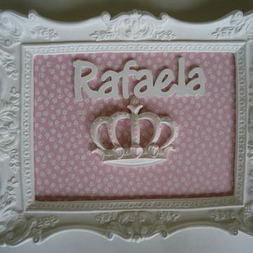 Quadro Princesa Rafaela