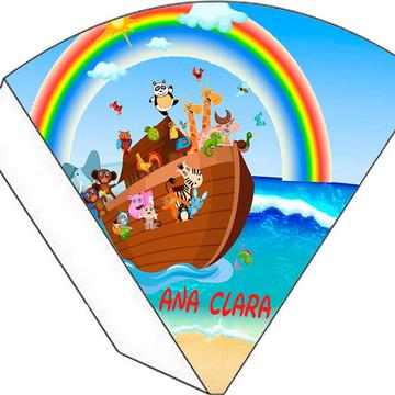 Cone Personalizado - Arca de Noé