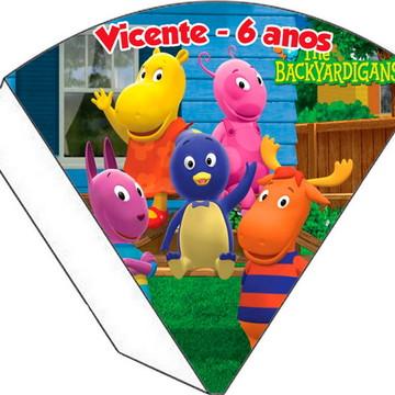 Cone Personalizado - Backyardigans