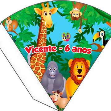 Cone Personalizado - Safari