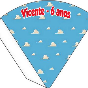 Cone Personalizado - Toy Story