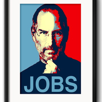 Quadro Steve Jobs Pop Art com Paspatur