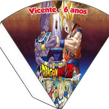 Cone Personalizado - Dragon Ball