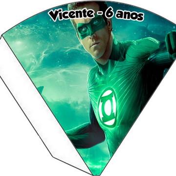 Cone Personalizado - Lanterna Verde