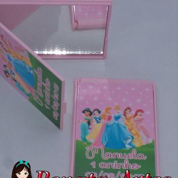 Espelho de bolsa Princesas Disney
