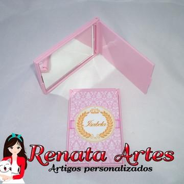 Espelho de bolsa Personalizado Rosa