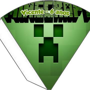 Cone Personalizado - MineCraft