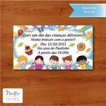 Convite Dia das Crianças